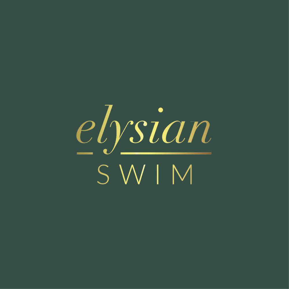 Elysian Swim Logo Mockup 2