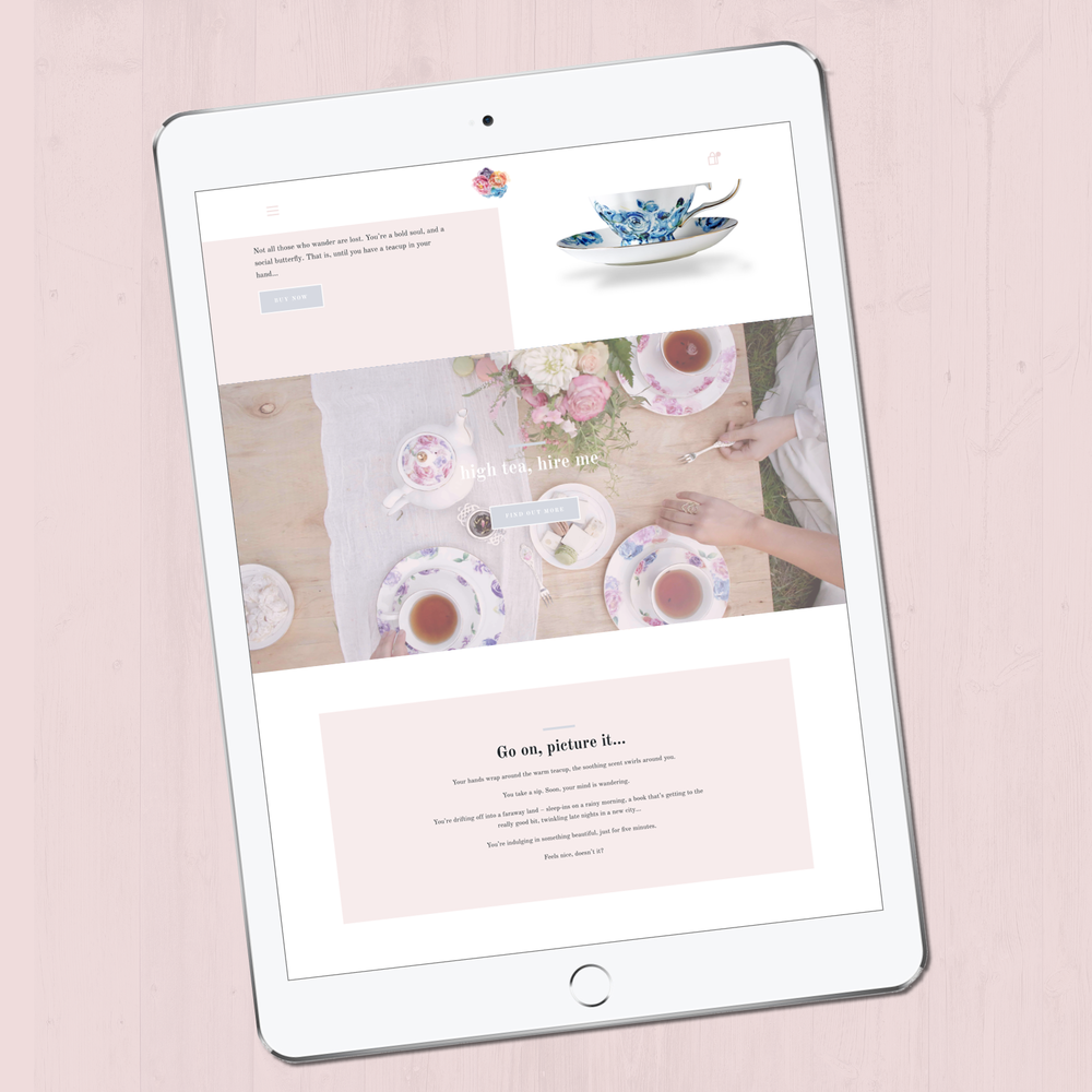 Amity Created iPad Website Sneak Peak