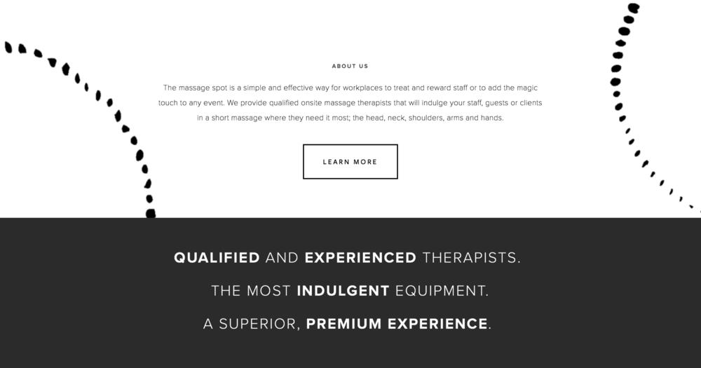 The Massage Spot Sample