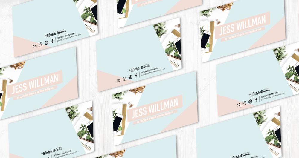 Jess Willman Business Cards