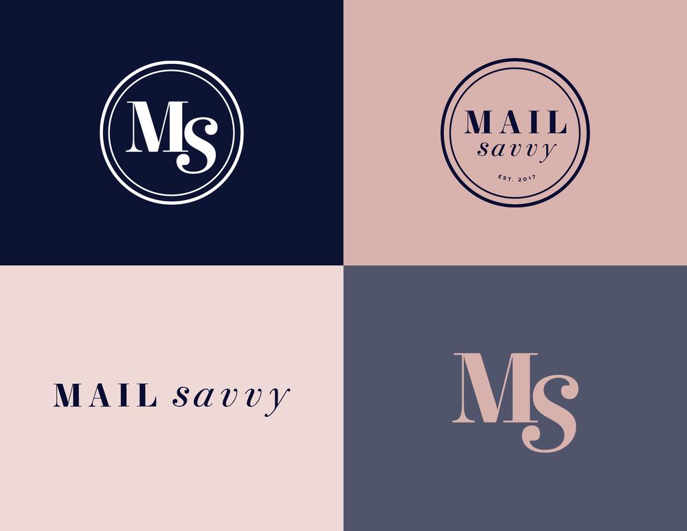 Mail Savvy Logo - Kira Hyde Creative