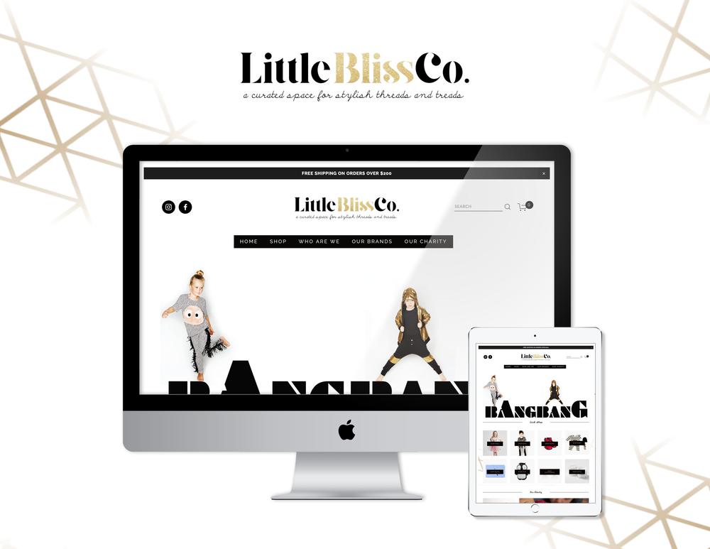 Little Bliss Co. Promotional Ad - Kira Hyde