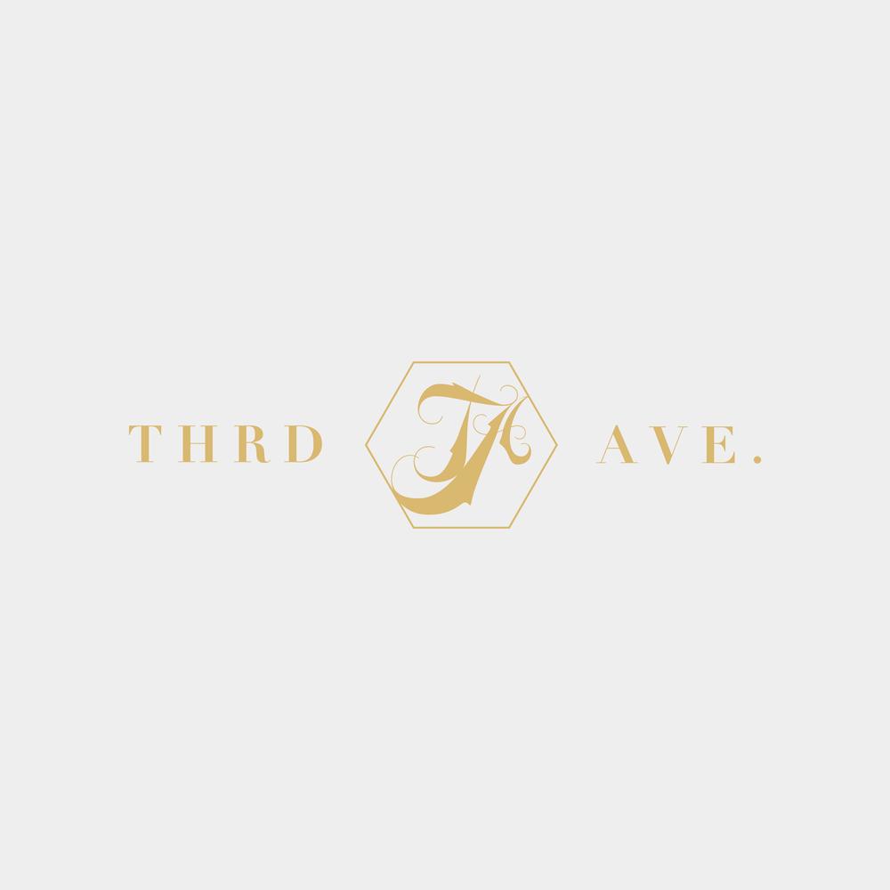 Third Ave. Logo - Kira Hyde Creative