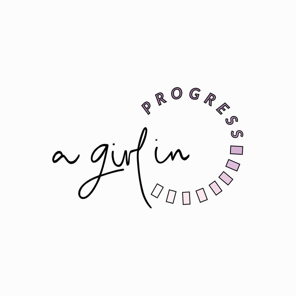 A girl in progress - brand logo