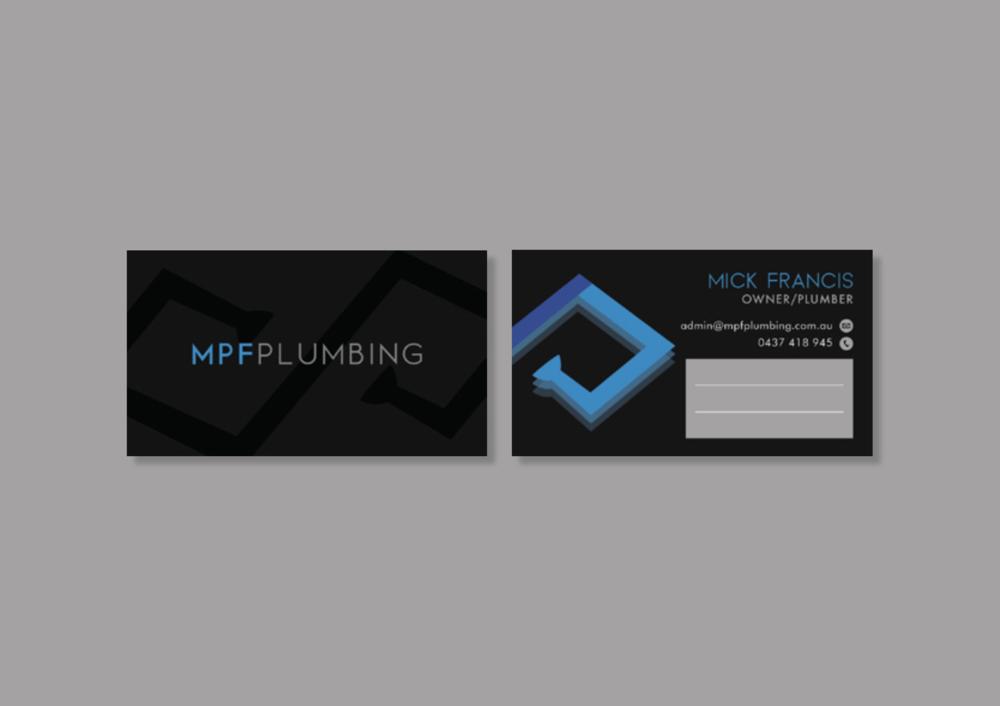 MPF Plumbing - Kira Hyde Creative