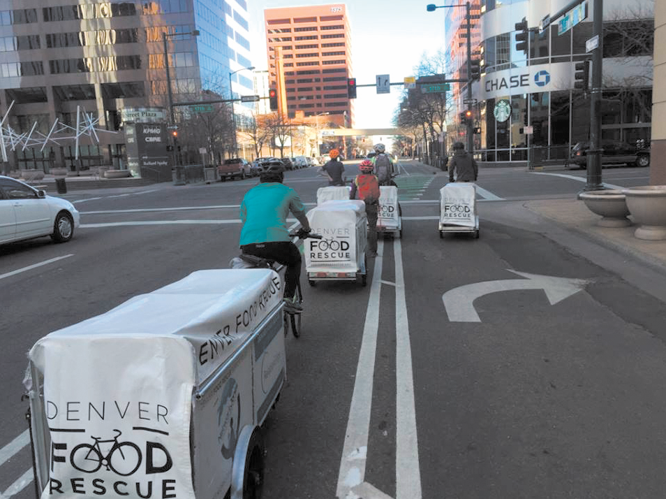 Denver Food Rescue collects produce that would otherwise be thrown away and distributes it to food deserts across Denver. (Credit: Denver Food Rescue)