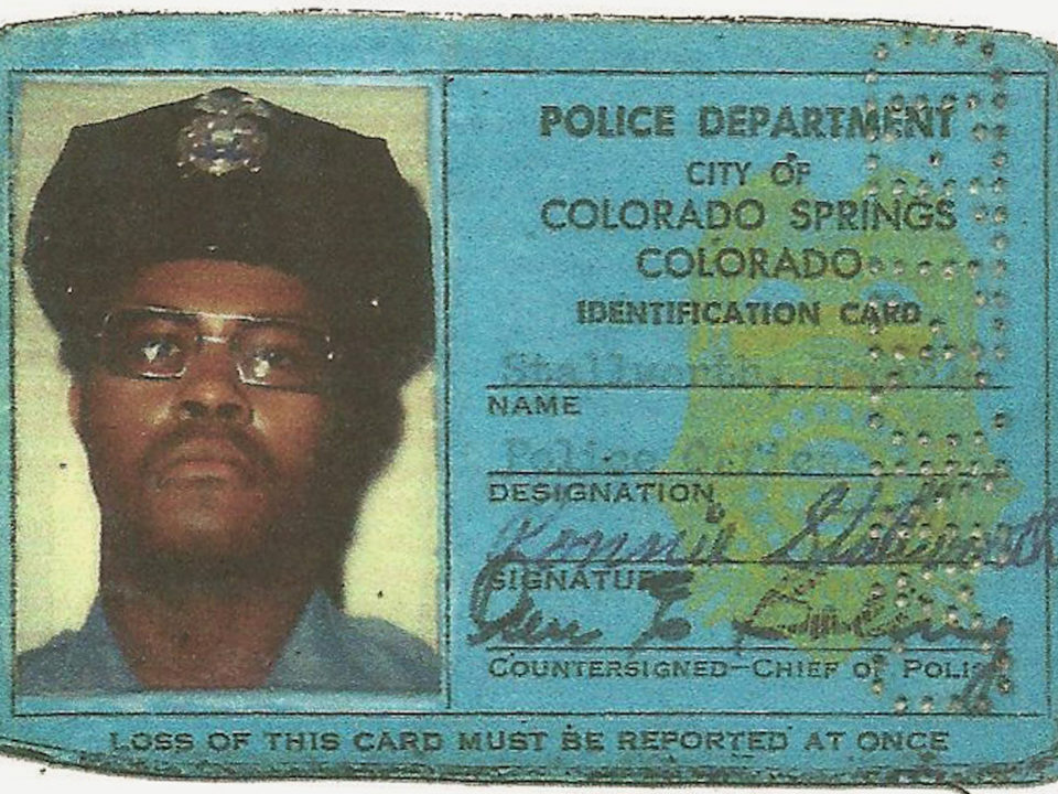 Stallworth's Colorado Springs Police Department ID card. (Credit: Focus Features)