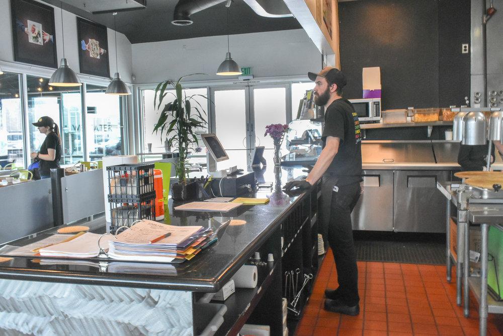Café 180 - Interview by Robert Davis