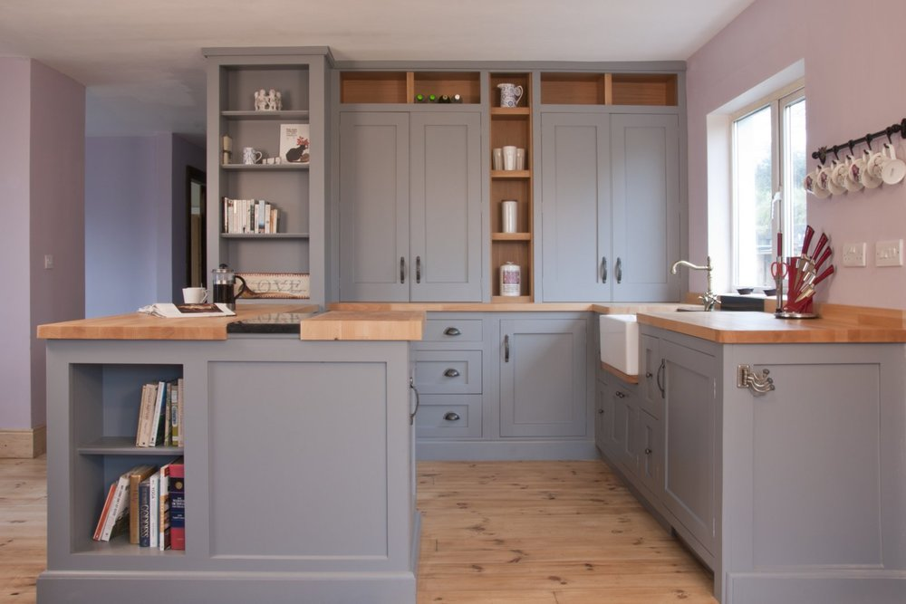 Handcrafted bespoke kitchens Wicklow
