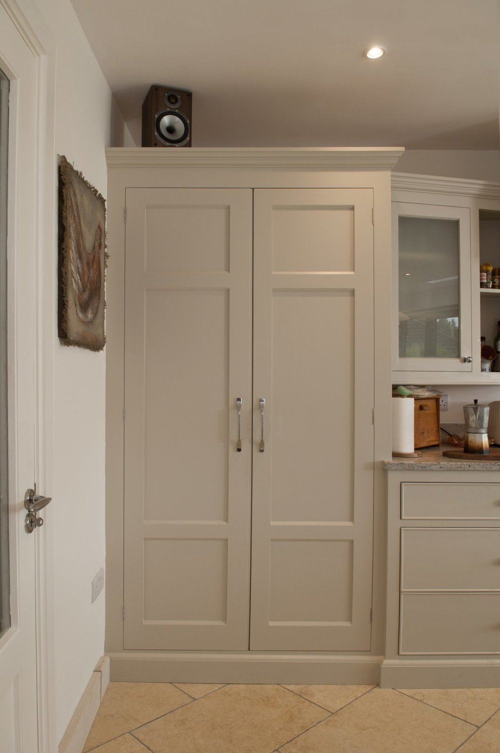 Kitchen storage cupboards handcrafted, Talisman Woodworks