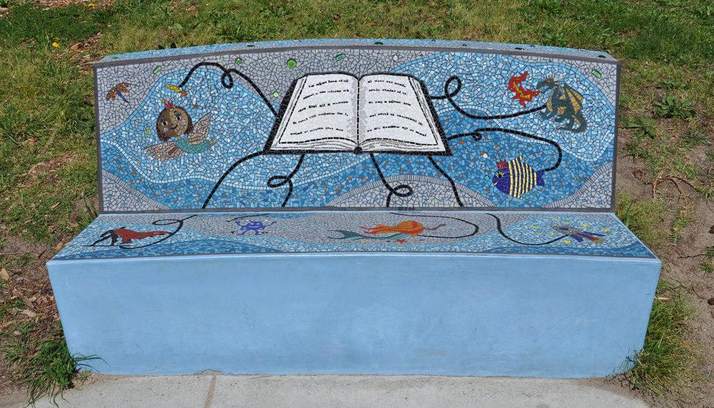 Artful Reading Bench