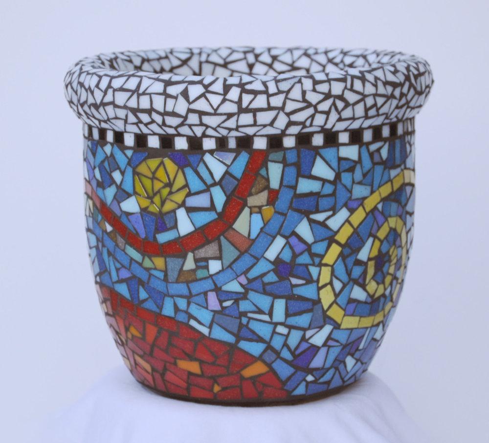 Swirly Crazy Pot #6