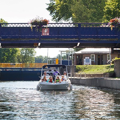 Boat going under swing bridge.jpg