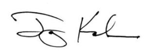 Jay Kahn's signature