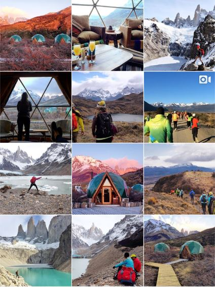 PATAGONIA, ARGENTINA & CHILE - Partnership with @cascadatravel and @ecocamp - Blogging, extended partnership & facilitated sponsorships with @Deuter backpack brand.