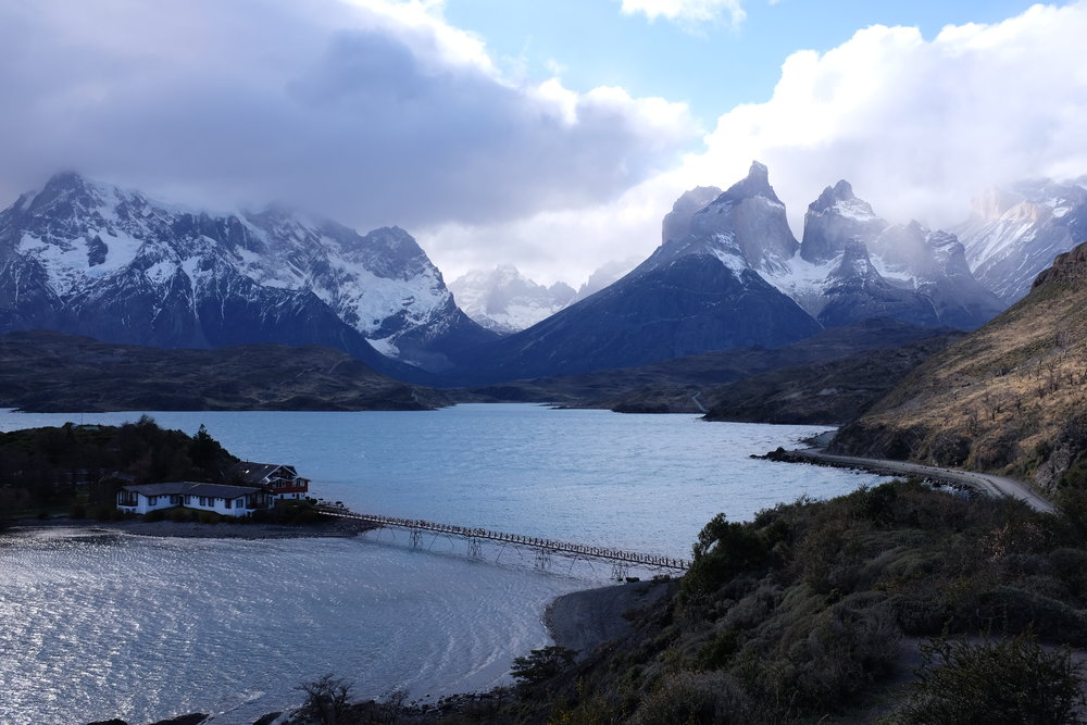 Patagonia International Marathon Landscape