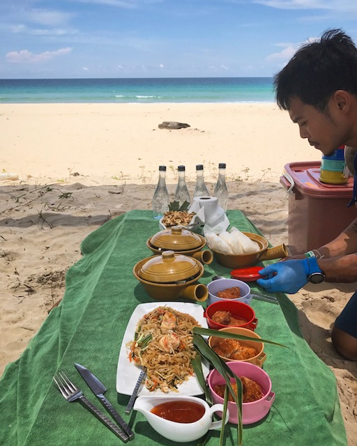 Thai Secret Beach Lunch