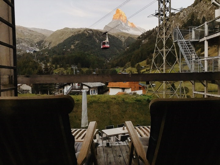 Balcony View at Matterhorn Focus