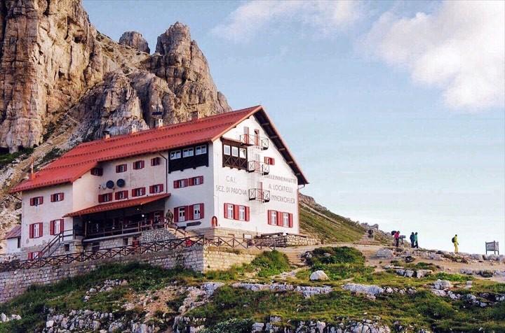 Rifugio Locatelli - Tre Cime, Dolomites