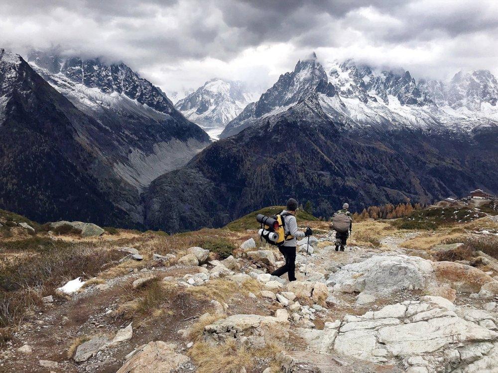 Chamonix Lac Blanc trekking