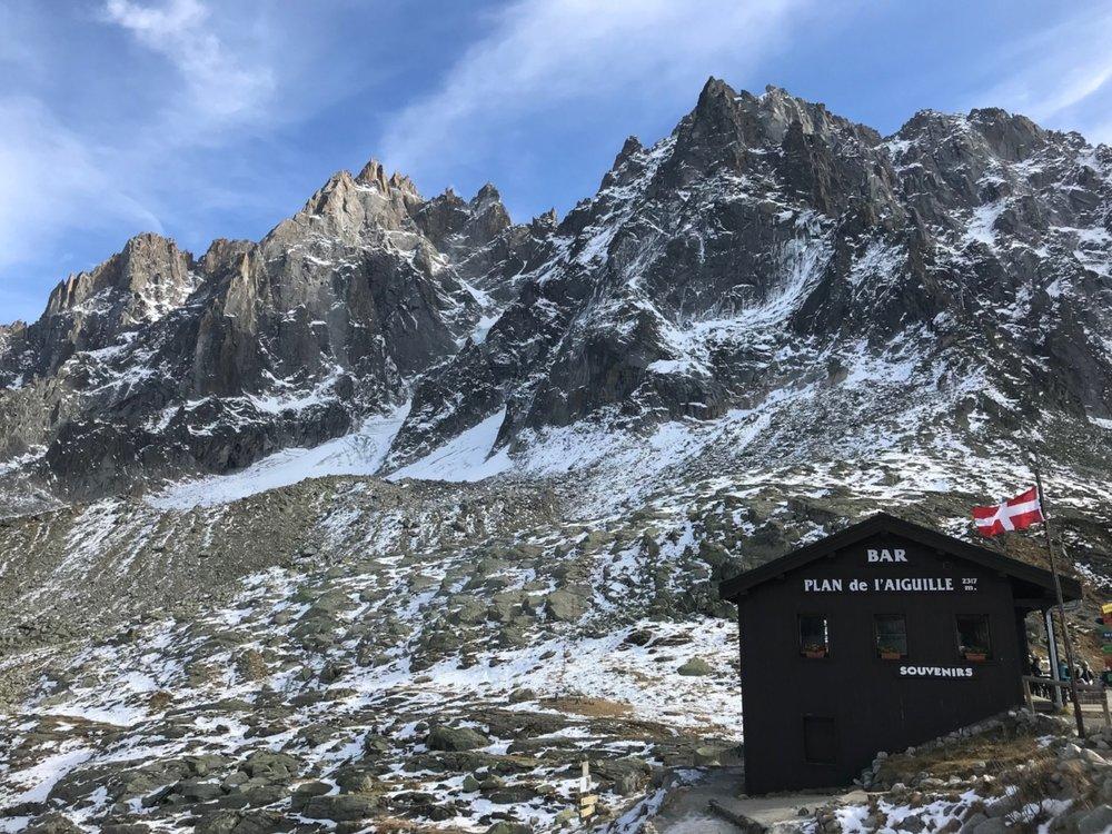 Bar Plan de l'Aiguille Chamonix