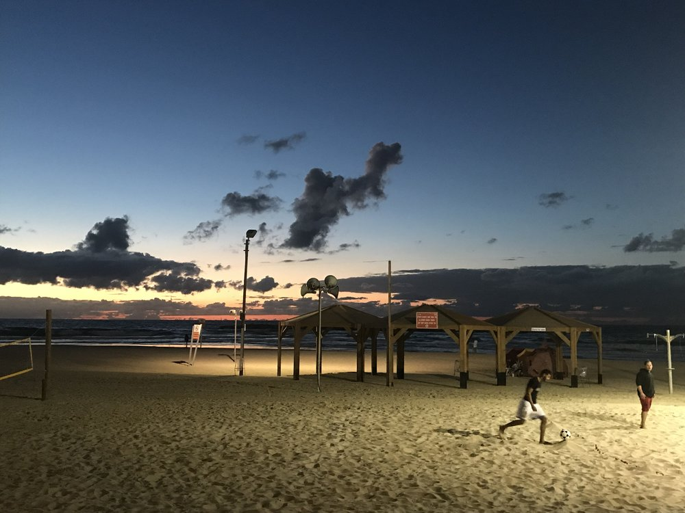 TLV beach
