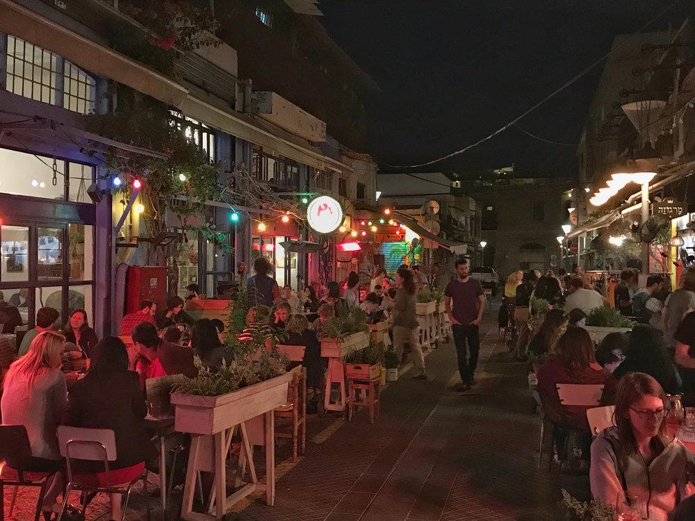 Pu'a Restaurant in Jaffa