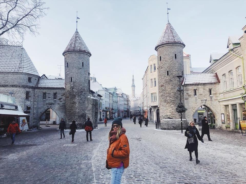 town center tallinn estonia