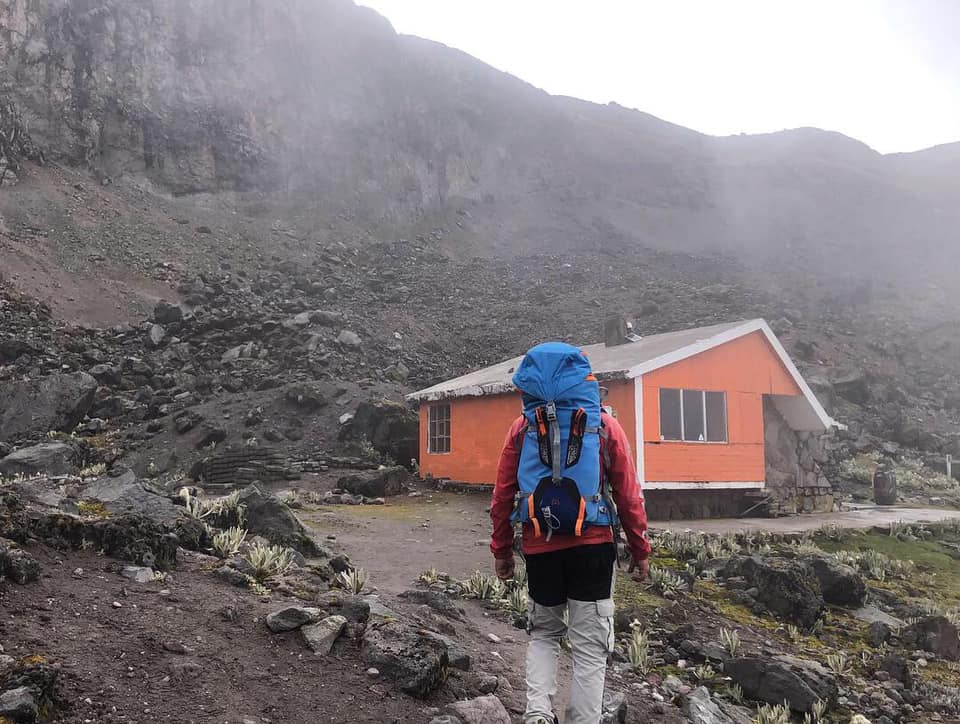 Arriving at the Nuevos Horizontes Refuge