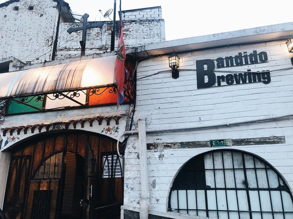 Bandido Brewing in Quito - a must visit!
