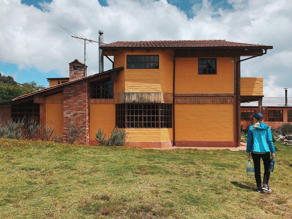 The rustic family-owned hacienda felt like home