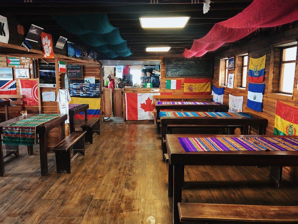 Jose Rivas hut main room