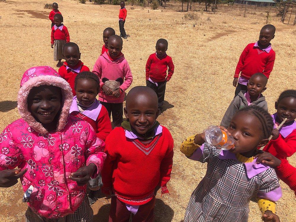 kenya mountain school children olepangi