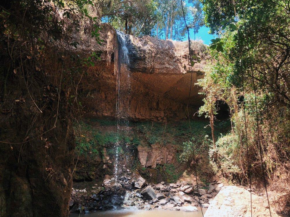 waterfall olepangi farm