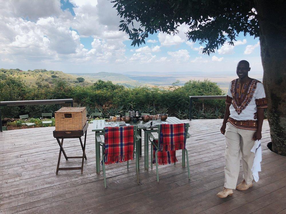 angama lunch kenya safari masai mara farm