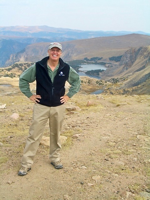 Knowlton on the Beartooth Pass in Wyoming