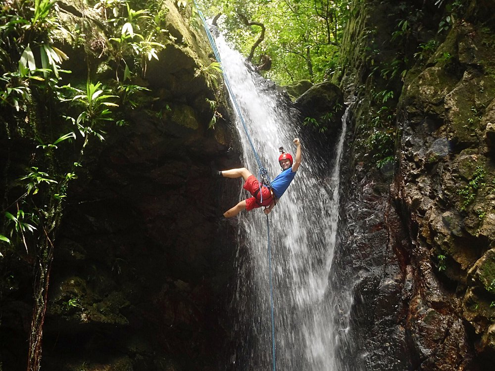 Honduras Waterfall Descents