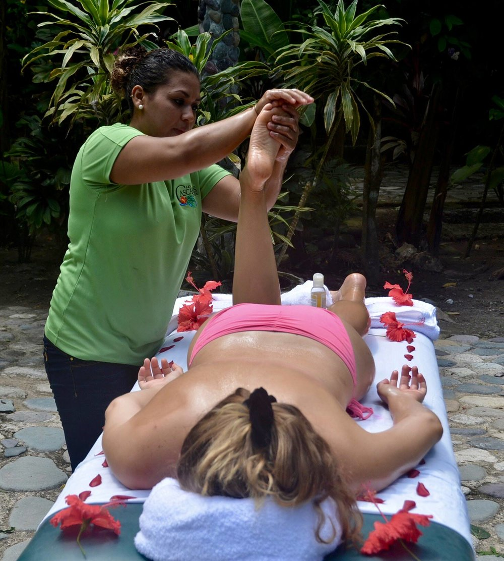 A Day of Relaxation includes massage