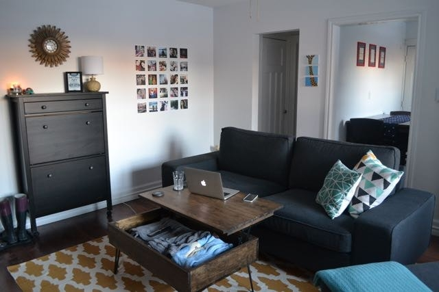 Like my apartment? Check out the rest of my old place on  Apartment Therapy's Small Cool 2016 .