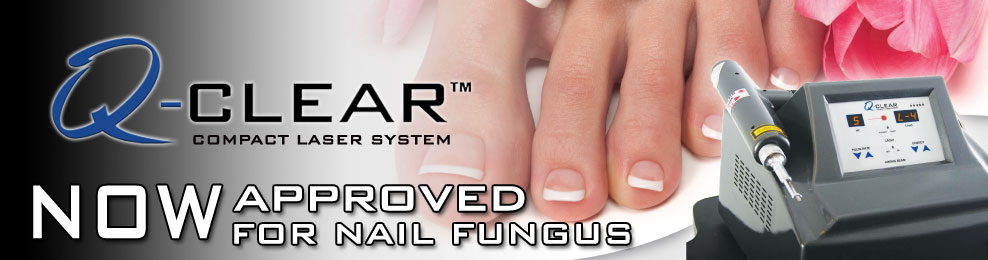 Q-clear-fungus laser fungal toenails miami hialeah fl podiatrist julette perez