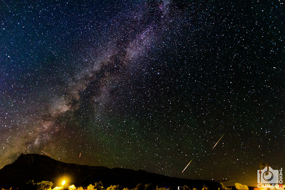 2015 Road Trip - Perseid Meteor Shower - Moab, Utah