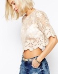 Simliar Lace Top