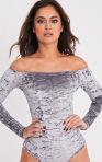 Velvet Bardot Bodysuit