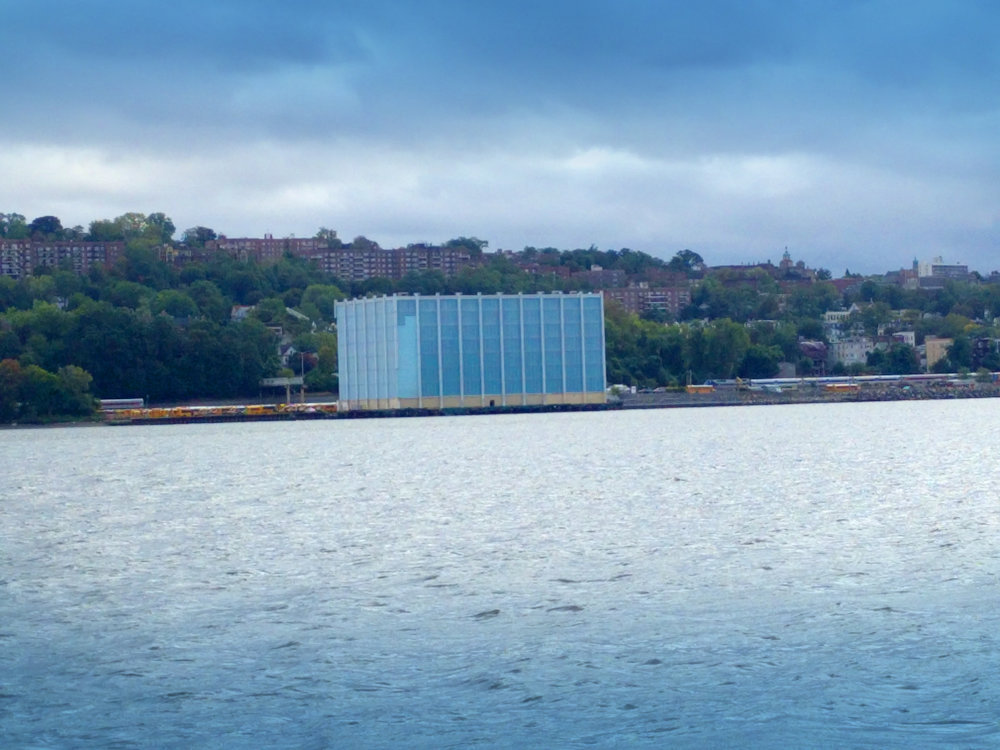 Modern marine facility.