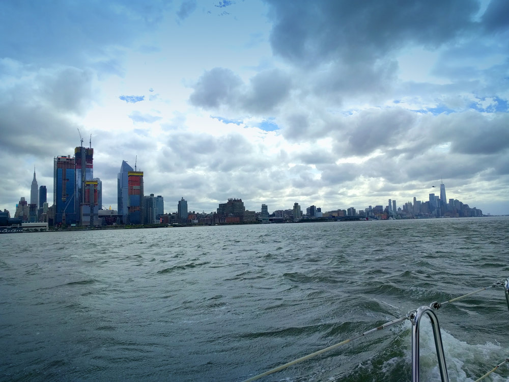 NY harbour.