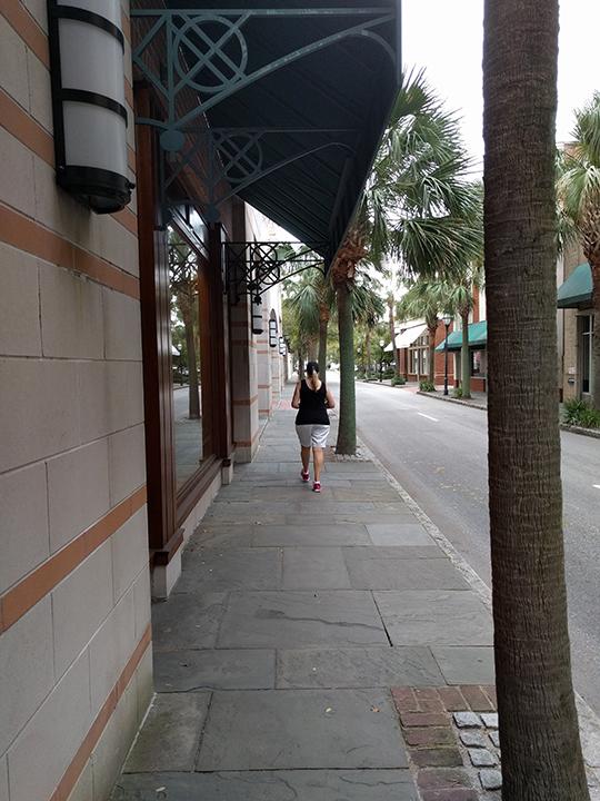Shopping downtown Charleston