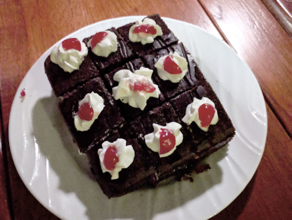 A twist on Black Forest cake.