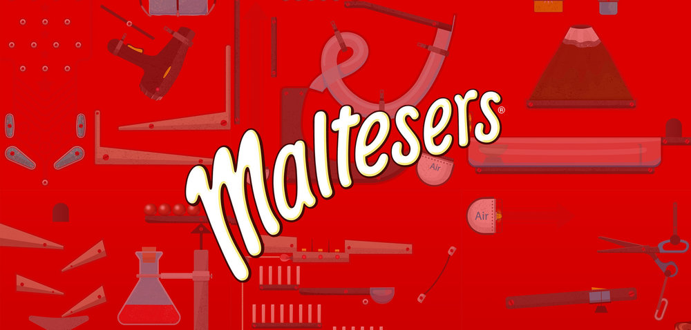 Maltesers -Rude Goldberg Animation