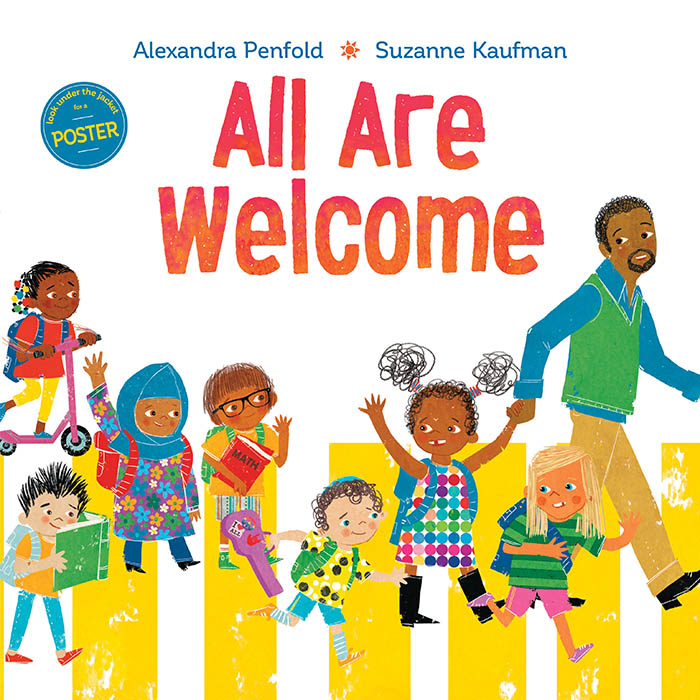 alexandra penfold, all are welcome, suzanne kaufman, book