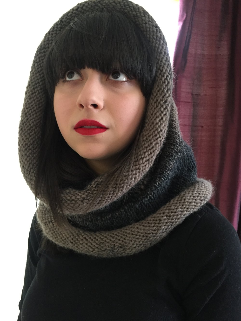 Craftivist Cowl #1: Beginner Bulky